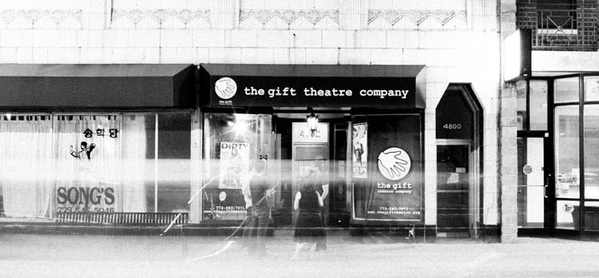 Photo of the Gift Theatre exterior